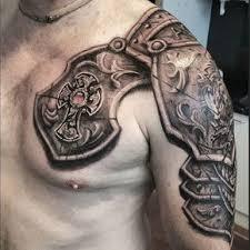 the 25 best shoulder armor tattoo ideas on pinterest armor