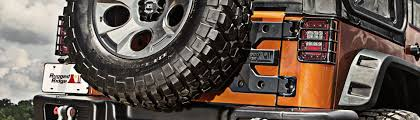 Rugged Ridge Tire Carrier Universal Spare Tire Carrier Accessories Brackets Spacers