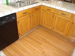 Laminate Flooring In Kitchens Popular Laminate Flooring Over Tile Ceramic Wood Tile