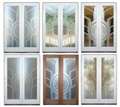 etched glass exterior doors frosted glass front doors sans soucie art glass