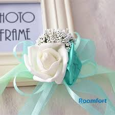 Prom Wrist Corsage Online Shop Wedding Party Prom Wrist Corsage Artificial Flower
