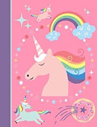 unicorn notebook unicorns night sky notebook composition book