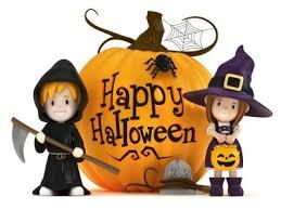 kids happy halloween clipart clipartxtras