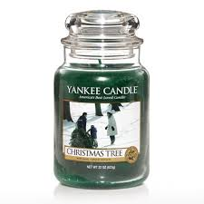 tree scented candles decor