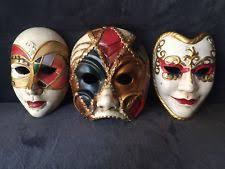 ceramic mardi gras masks for sale unbranded ceramic venetian mardi gras resin decorative masks ebay
