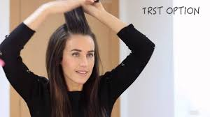 easy everyday hairstyles hd youtube