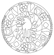 mandala horse 1 mandalas coloring pages for adults justcolor
