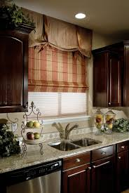 kitchen beautiful and decorative kitchen roman shade for instant