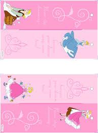 printable princess birthday invitation templates