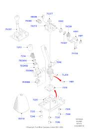 gear change lever manual trans ford focus 1998 2005 cak