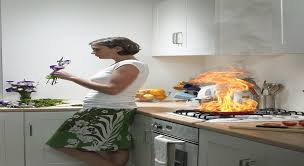 s curit en cuisine cuisine prévention au danger du feu