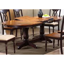 Butterfly Leaf Dining Room Table by Gatsby Oval Dining Table Double Butterfly Leaf Whiskey U0026 Mocha