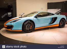 orange mclaren 2013 light blue u0026 orange mclaren mp4 12c coupe super sports car