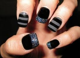 Nail Art Design Black 50 Sassy Black Nail Art Designs To Envy