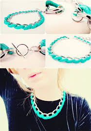 chain necklace diy images Diy jewelry 15 diy chain statement necklaces styles weekly jpg