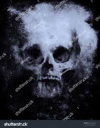 mystical halloween background wallpaper bull skull horror background halloween stock