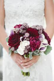 fall bridal bouquets and white winter wedding bouquet tulle chantilly