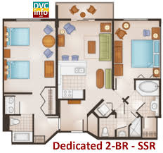 saratoga springs treehouse villas floor plan disney s saratoga springs resort spa dvcinfo