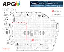Mccormick Place Map Apg Weftec 2015 Apg