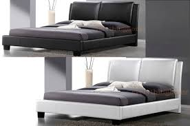 Double Faux Leather Bed Frame by Bed Frame White Bed Frames Full Bed Frames