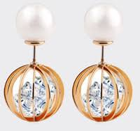 front and back earrings s best front back stud earrings to buy buy new front back stud