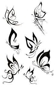 butterfly tattoos designs and templates