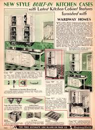 Latest In Kitchen Cabinets Ultra English Modern Type The 1931 Wardway Whitmore Oklahoma