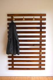 wall deyan coatrack w mirror mounted coat hanger rack with shelf