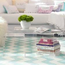 acrylic nesting tables target tricia guild s beautiful wallpaper my style interior pinterest