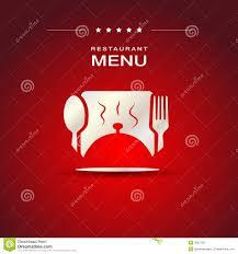 cover restaurant menu design stock vector image 49608393