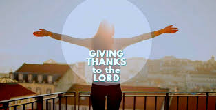 thanksgiving prayer giving thanks to the lord with a grateful