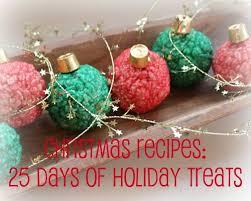 christmas recipes 25 days of holiday treats mommysavers