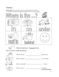 collections of preposition for kindergarten worksheet bridal