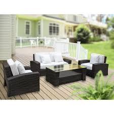 Cheap Patio Sofa Sets Modway Harmony 4 Piece Outdoor Patio Sofa Set U0026 Reviews Wayfair