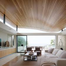 curved drop ceiling home office contemporary with window