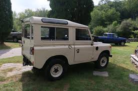 land rover series 3 1973 land rover series iii marine blue north america overland