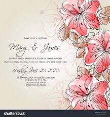 vintage cocktail vector valentine wedding card or invitation with abstract floral