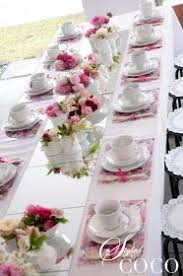 tea party table and chairs tea party table set up love this layojt tea party baby shower
