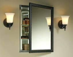 Corner Bathroom Mirror Corner Bath Medicine Cabinet Crosstown Stainless Steel Corner