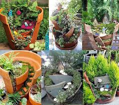 Garden Crafts Ideas - 20 low budget garden pots and container projects garden lovers club