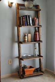 Wooden Ladder Bookshelf Plans by The 25 Best Bookshelf Ladder Ideas On Pinterest Ladder