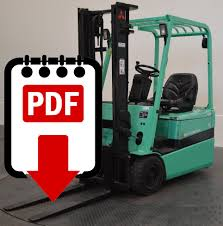 mitsubishi forklift fb16kt series manuals download pdfs instantly