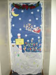 North Pole Christmas Door Decorations