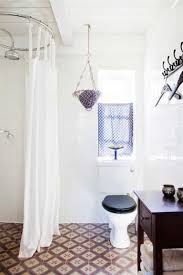 Unique Bathroom Shower Curtains Scandinavian Bathroom Ideas With White Shower Curtain And Black