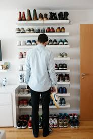 Shoe Storage Ideas Ikea by Shoe Storage Shoek For Men Awful Image Concept Entranceks Entryway
