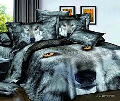 Wolf Bed Sets Fadfay Home Textile 3d Tiger Bedding Sets Wolf Bedding Sets Mens