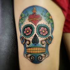 tattoo pictures color 125 best sugar skull tattoo designs meaning 2018
