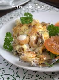 gratin de fruits de mer amour de cuisine