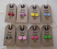 cardboard earrings 146 best jeweley earring cards displays images on