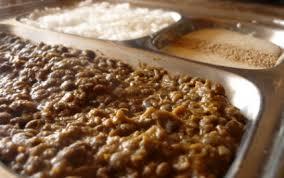 cuisine lentilles vertes recette dahl de lentilles vertes et sa sauce yaourt sucré salé 750g